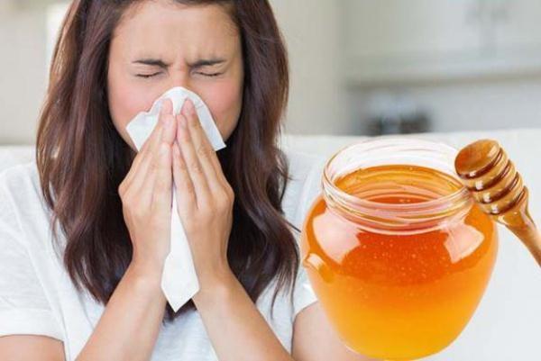 Utilisation de miel pour le rhume