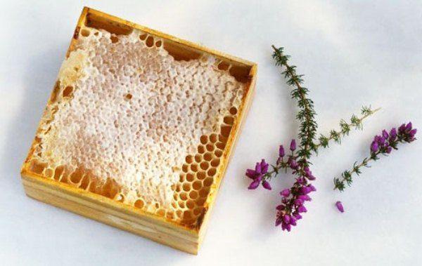 Peigne miel chiné