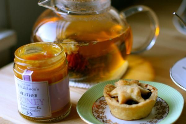Thé au miel de bruyère