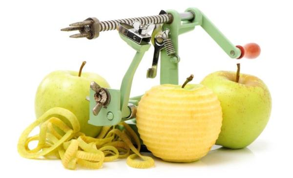 couteau de nettoyage de pomme