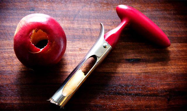 Dissolvant de noyau de pomme