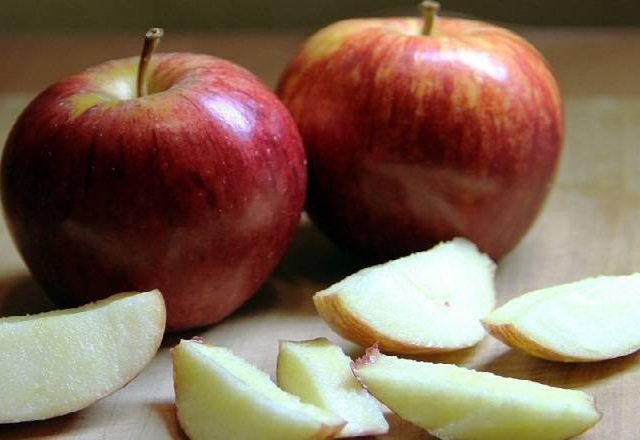 Gel des pommes