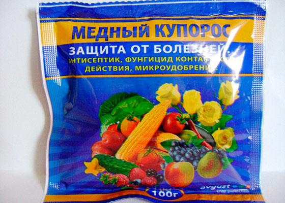 Le sulfate de cuivre protège bien contre les maladies