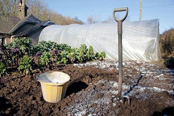 Fertiliser le sol pour creuser