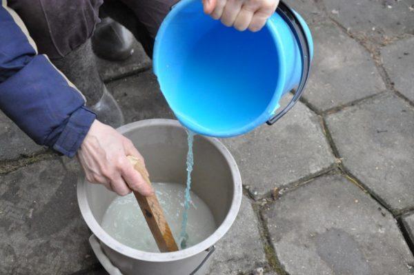 Dilution de la solution de sulfate de cuivre